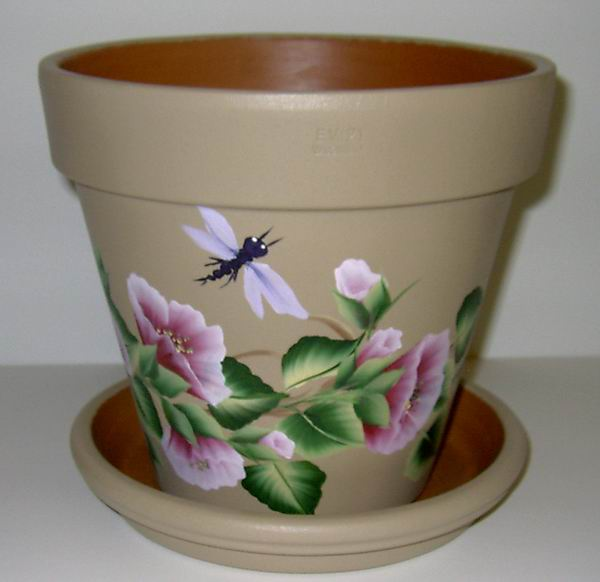 Flower pots for Small clay flower pots