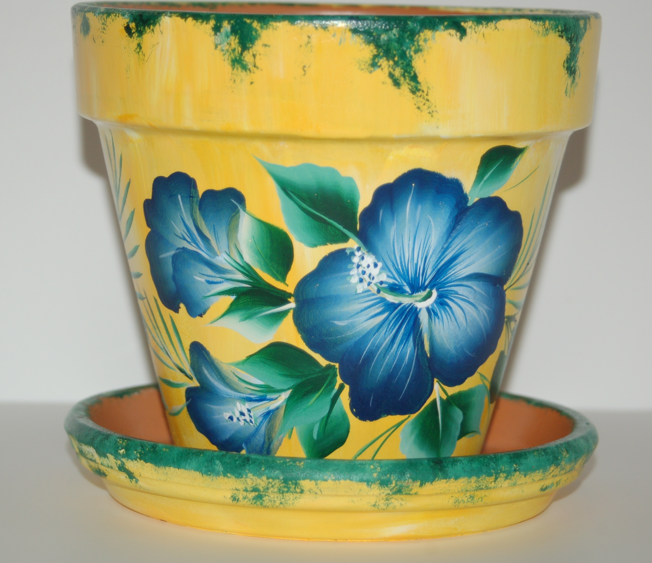 Flower pots for Design patterns for pot painting