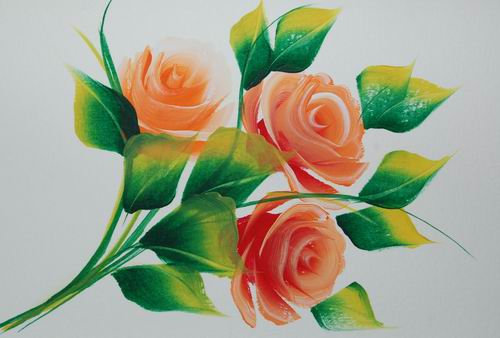 Birthday Cards Paintings ~ Hand painted greeting cards
