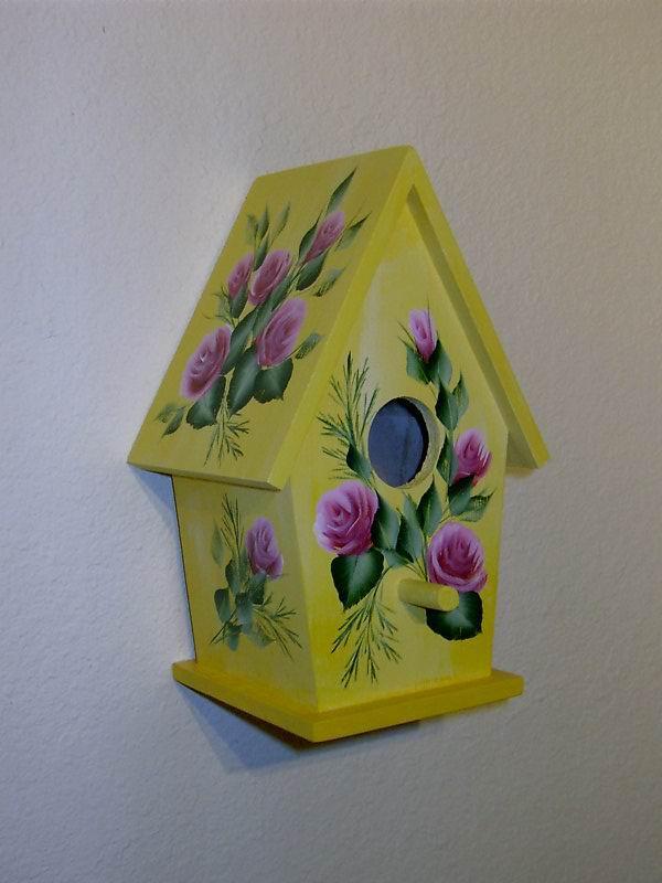 Hand painted bird houses ideas foto bugil bokep 2017 - Bird house painting ideas ...